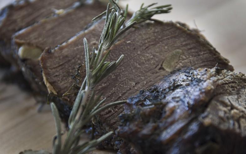 sliced braised beef