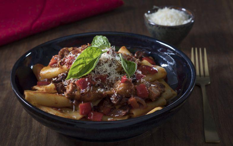 recipe for pork cheek ragù pasta