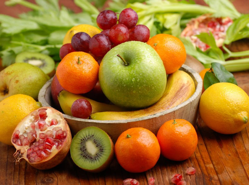Seasonal fresh fruit for September to November