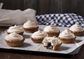 Wild Berry Meringue Tartlets recipe