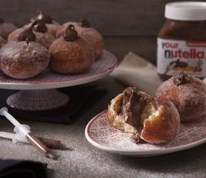 doughnuts Nutella